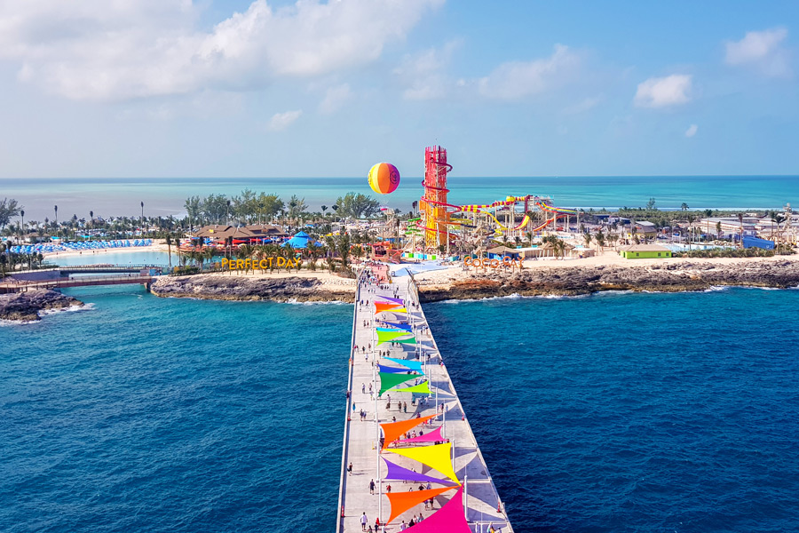 CocoCay - Pier (© Foto: Press Center Royal Caribbean International)