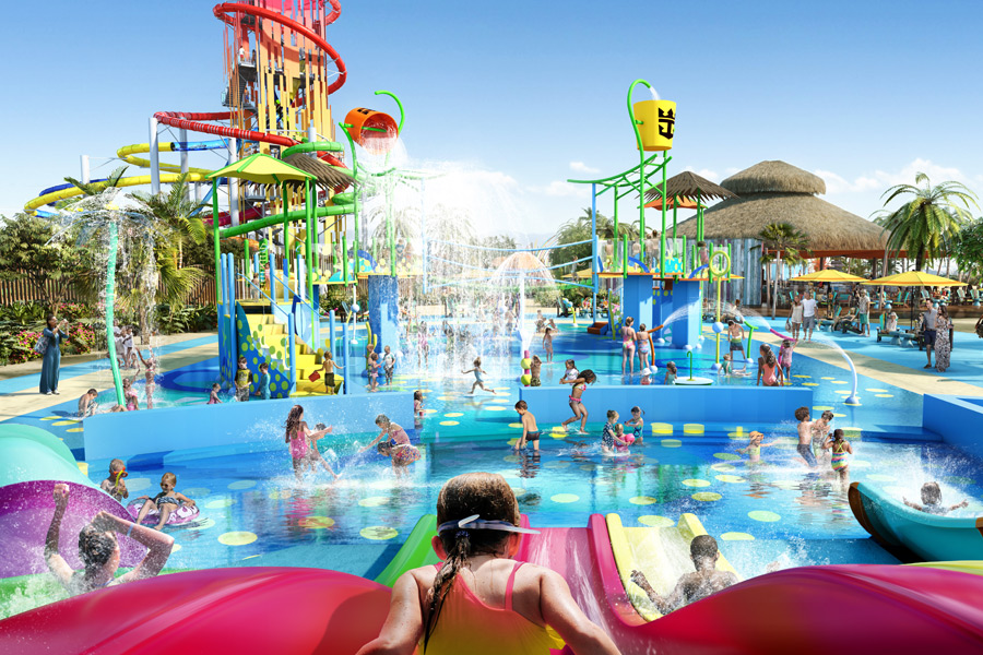 CocoCay - SplashAwayBay (© Foto: Press Center Royal Caribbean International)