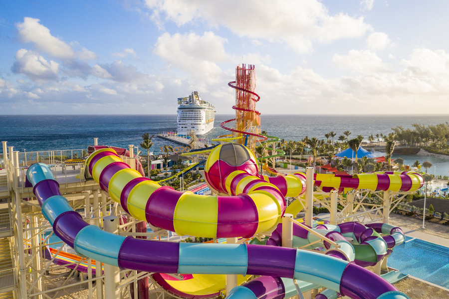 CocoCay - SplashSummit (© Foto: Press Center Royal Caribbean International)