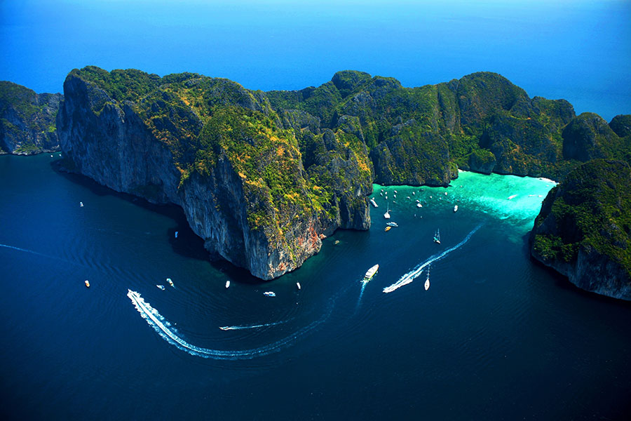 Luftaufnahme (Foto: Tourism Authority of Thailand/Krabi office)