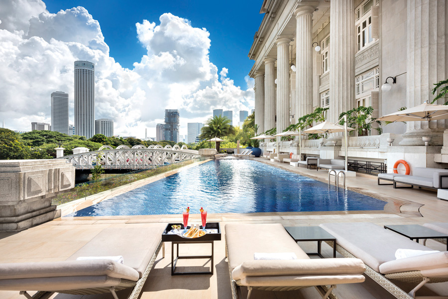 Das Fullerton in Singapur (© Foto: Preferred Hotels and Resorts)